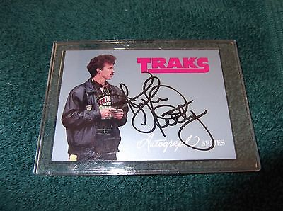 1992 Kyle Petty Traks Autograph Series Card A6