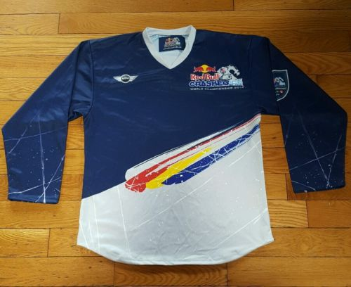Red Bull Crashed Ice 2012 World Championship Jersey L Large St Paul Hockey