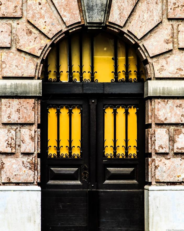 Yellow Door Architecture Photo