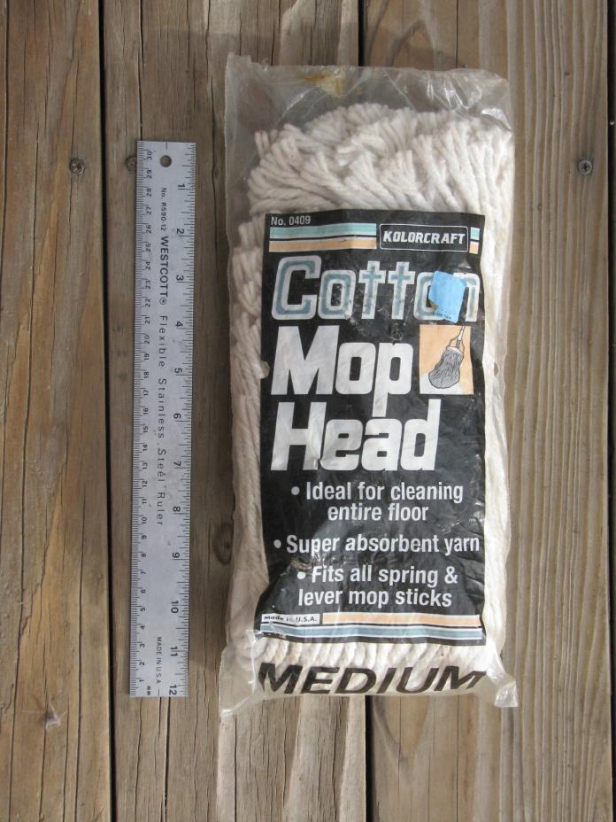 KOLORCRAFT COTTON MOP REFILL 22