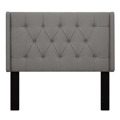 Right2Home Upholstered Headboard Ash King DS-D017-270-372 Grey NEW