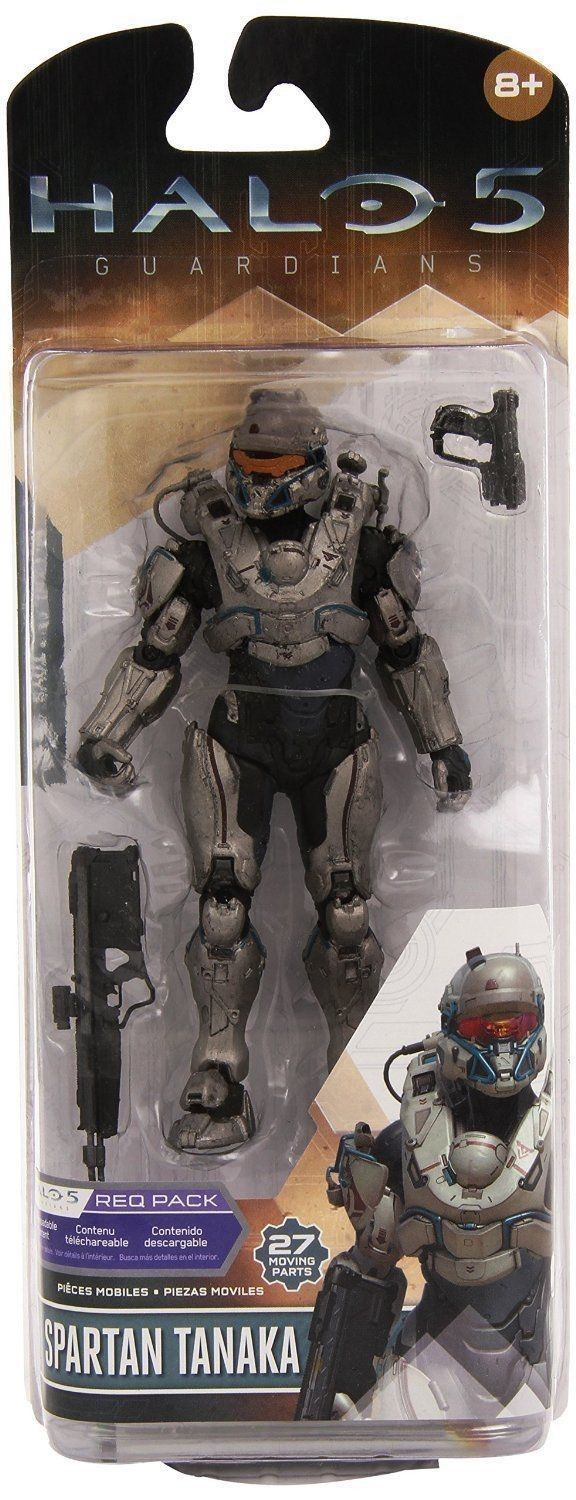 McFarlane Toys Halo 5: Guardians Series 1 Spartan Tanaka Action Figure