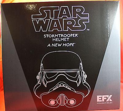 Star Wars A New Hope Stormtrooper Helmet 2015 EFX