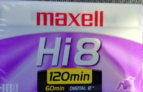 Maxell Hi8 XR-Metal Professional Quality 8mm Camcorder VideoTape Digital8 Compat