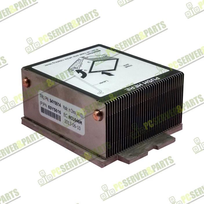 IBM 94Y6614 Heatsink for IBM System x3650 M4 Rack Server 69Y5616