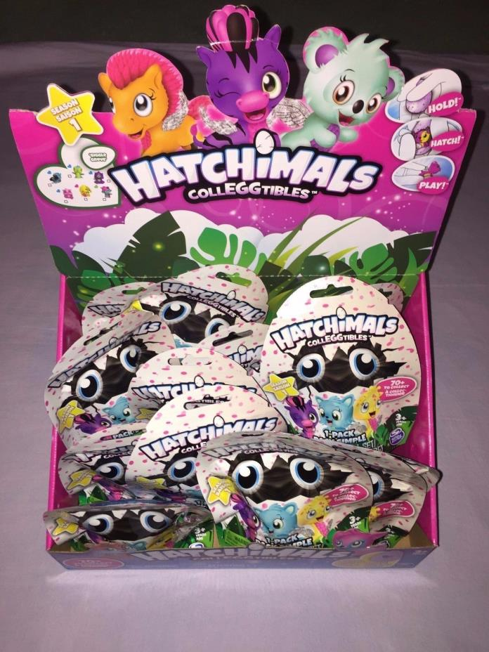 15x HATCHIMALS COLLEGGTIBLES SEASON 1 MYSTERY PACKS *NEW*
