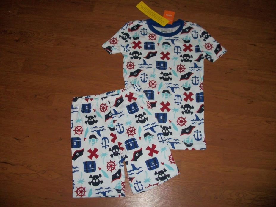 New with tags, boys Gymboree Gymmies,Pirate 2 piece, size 8, size 10