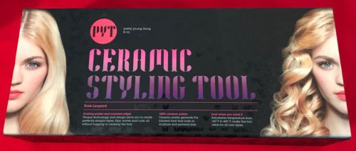 PYT Ceramic Styling Tool Rose Leopard Flat Iron