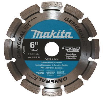 MAKITA-A94708 6 In. General Purpose Segmented Diamond Blade