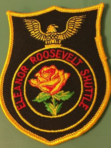 Eleanor Roosevelt Shuttle patch 3