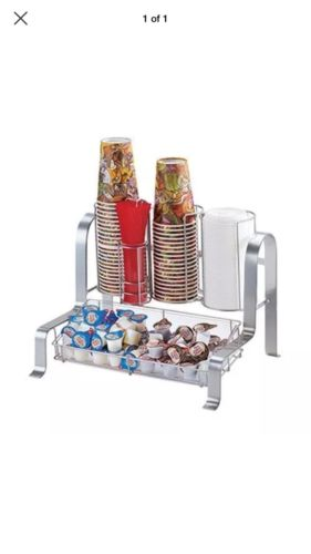 Cal-Mil 1594-74 Soho Condiment Organizer Silver