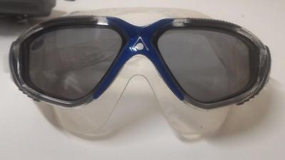 Aqua Sphere Vista Swim Mask Grey/Blue Clear Used