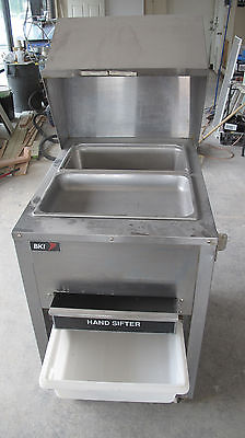 BKI BT-24M MOBILE BREADING PREP WORK TABLE CART