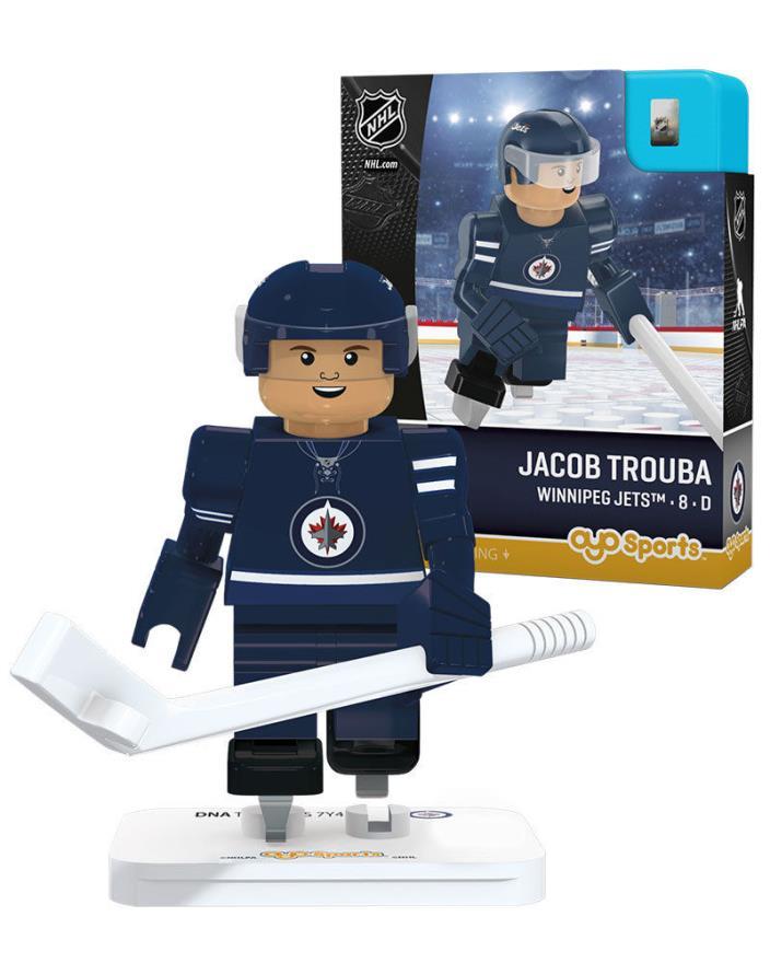 Jacob Trouba Winnipeg Jets NHL Hockey Minifigure Oyo Sports NIB Hockey 15 Pcs