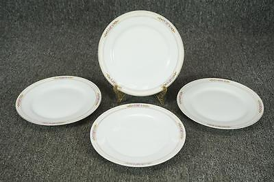 Set Of 4 Noritake Japan Ansonia Porcelain Bread And Butter Plates 7.5