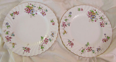 Mintons Vermont Pattern Dinner Plates (2)
