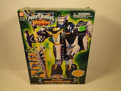 Power Rangers Wild Force Deluxe Predazord Fresh in Box Condition In USA