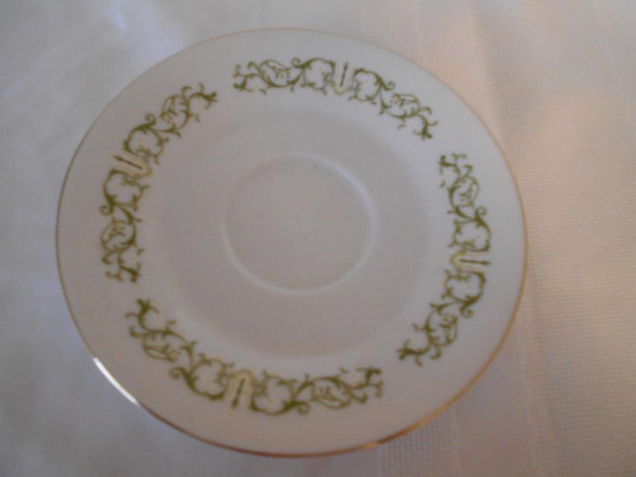 FINE CHINA OF JAPAN BELL FLOWER SAUCER