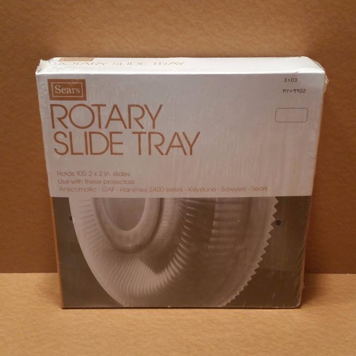 NEW Sears 39902 Rotary 100 Slide Tray Anscomatic GAF Keystone Sawyers Carousel