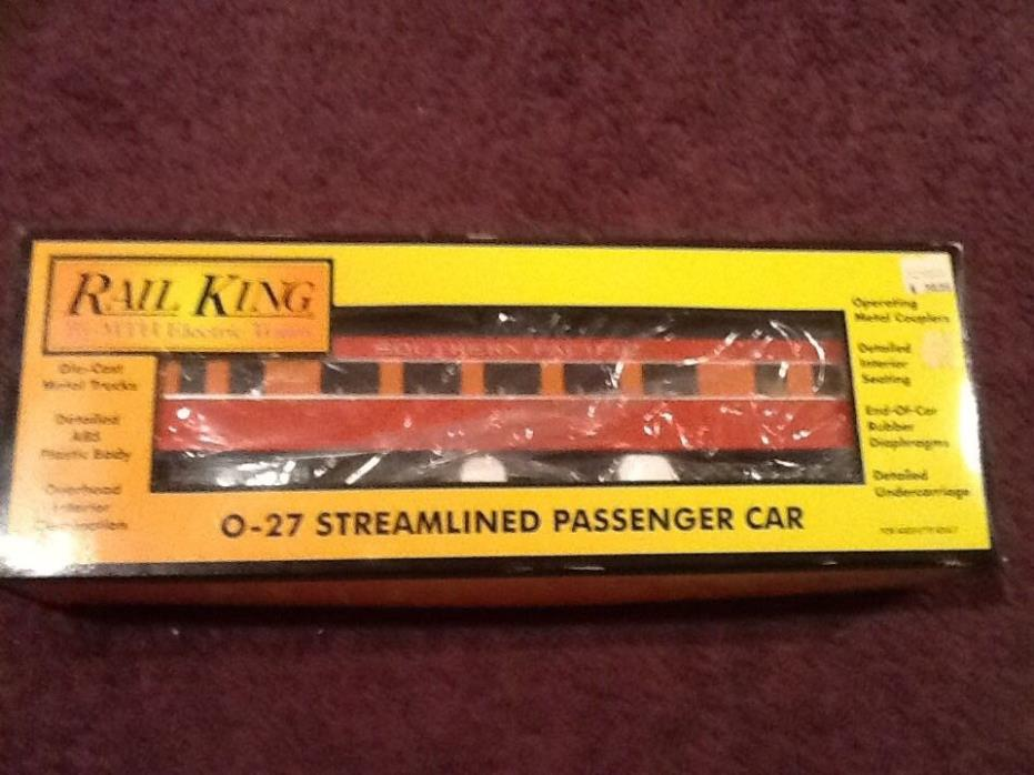 Rail King by MTH Electric Trains 0-27 Streamlined Passenger Car 2486
