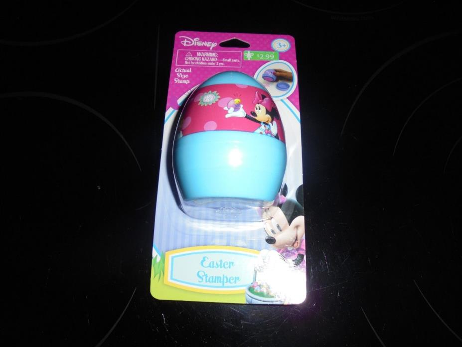 DISNEY MINNIE MOUSE EASTER EGG STAMPER NEW~~~