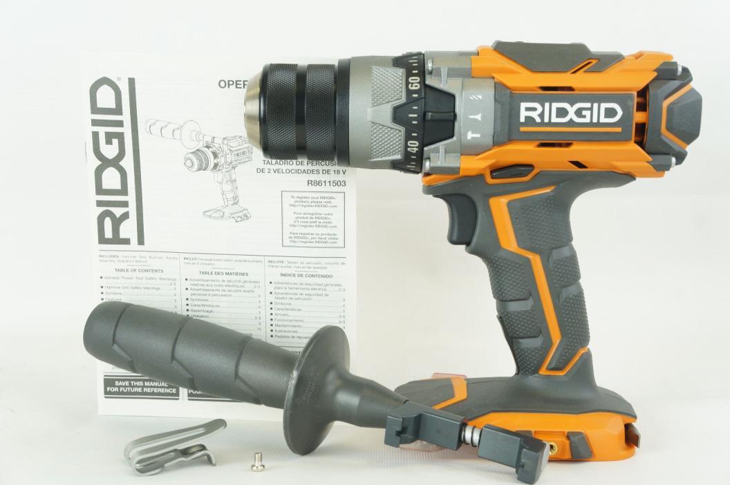 Ridgid R8611503 GEN5X 18-Volt Li-Ion 1/2 in. Cordless Hammer Drill (Tool-Only)