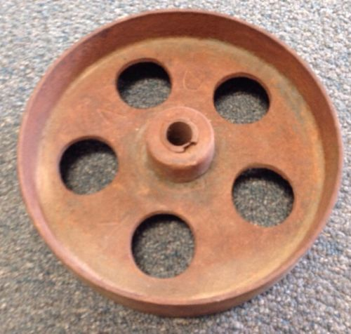 Vintage Metal Wheel , Cog , Rustic , Shabby , Ornate, Industrial, Steampunk ****