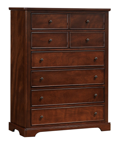 Better Homes and Gardens 03420-35M Langston Chest, 6 Drawer, Mahogany