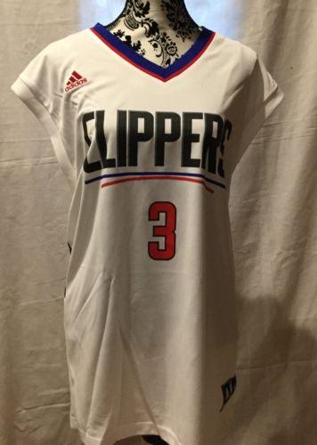 Nwt Nba Chris Paul La Clippers Jersey White Nba