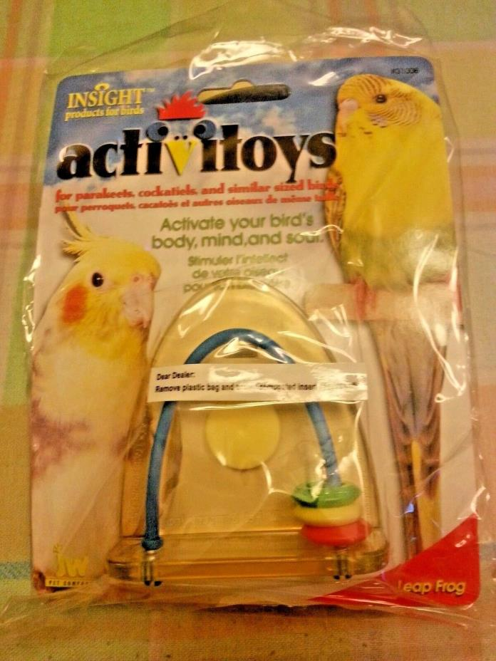 small Bird toys ACTIVITOYS - LEAP FROG TOY FOR BIRDS INSIGHT products