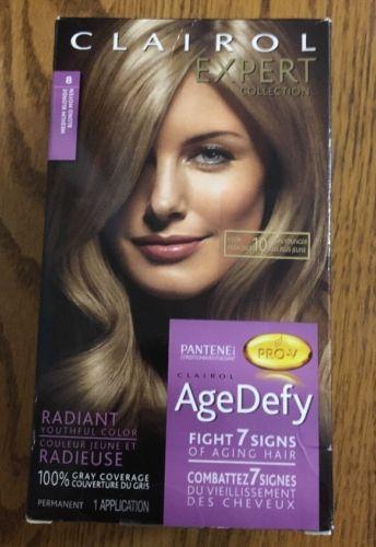 New Box Clairol Expert Collection Age Defy 8 Medium Blonde Hair Dye