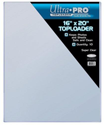 Ultra Pro 16' X 20' Toploader 10ct