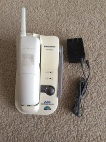 Panasonic KX TG2205W 2.4 GHz Cordless Phone USED