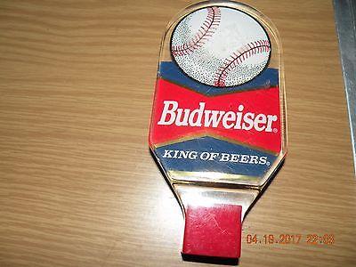 Baseball / Budweiser Beer Tap