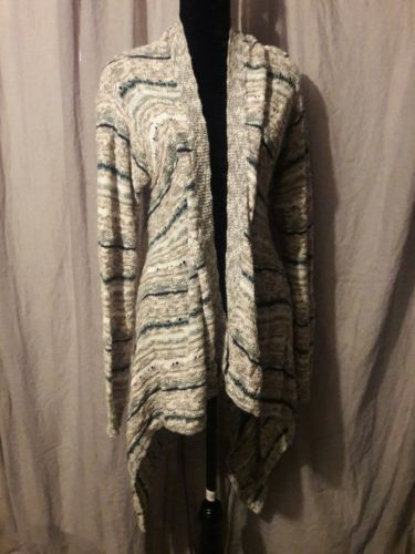 Maurices Long Sleeve Flowy Sweater Open Front Cardigan Drape Loose Size XL EUC