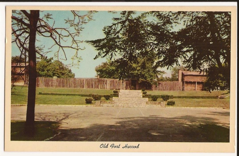 Harrodsburg, Kentucky Old Fort Harrod Post Card