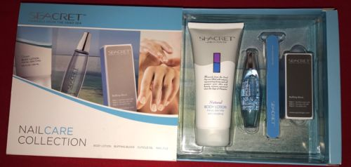 SEACRET Minerals from the Dead Sea - Nail Care Collection - Natural