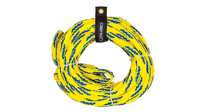 New O'Brien 2-Person Floating Yellow / Blue Tube Tow Rope - Part 2174566