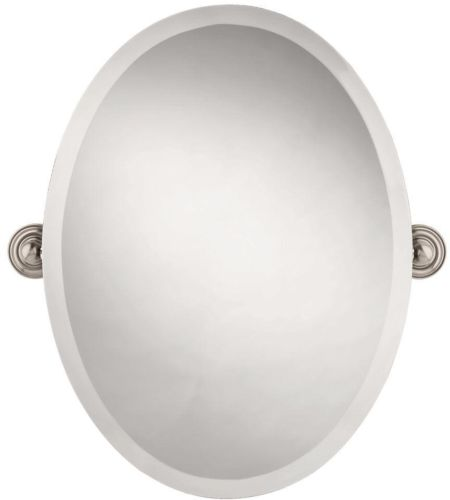 Delta Greenwich Mirror Satin Nickel,Hangs Vertically,Beveled Edges,Free Shipping