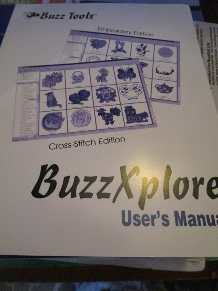 Buzz Xplore Premier Design Management System USER'S MANUAL ONLY
