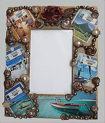 Hand Decorated~ Photo Frame