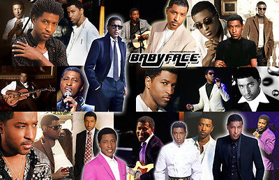 BABYFACE Collage Poster