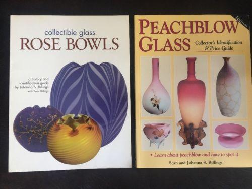 Signed Johanna Billings & Sean Billings Books Softcover Rose Bowls & Peachblow