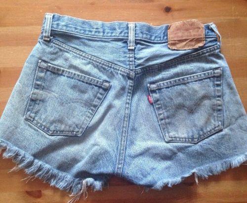 Levi's Women's Cutoff Denim Shorts Size 30/31
