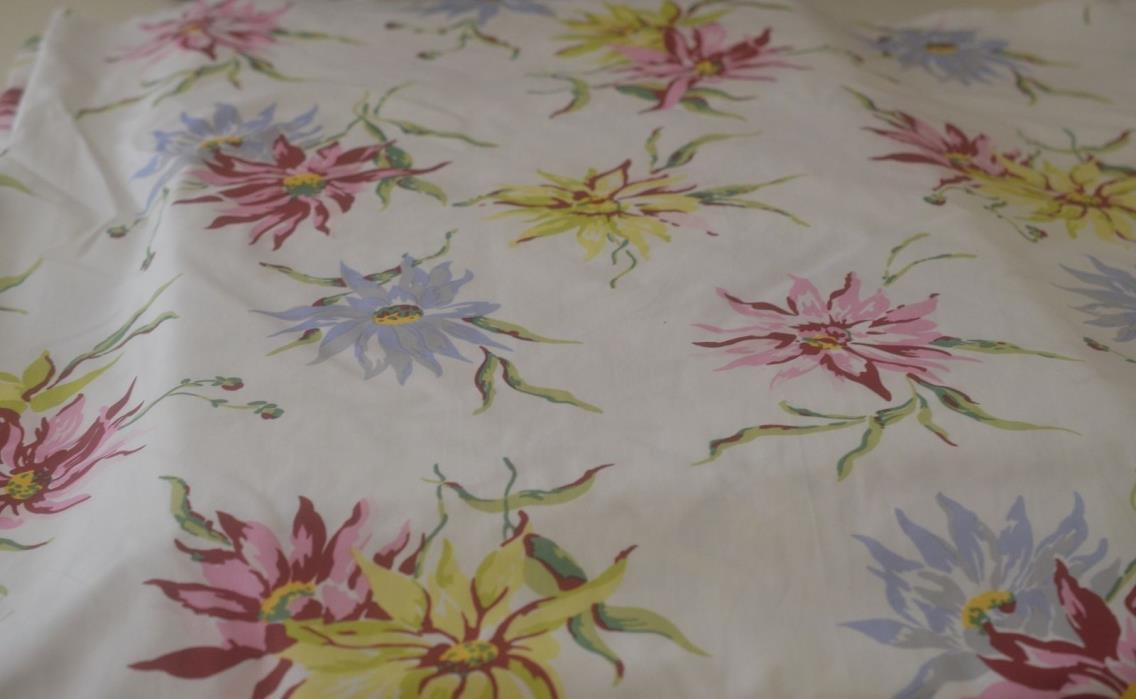 FABULOUS VINTAGE PORTHAULT COTTON FABRIC SS797