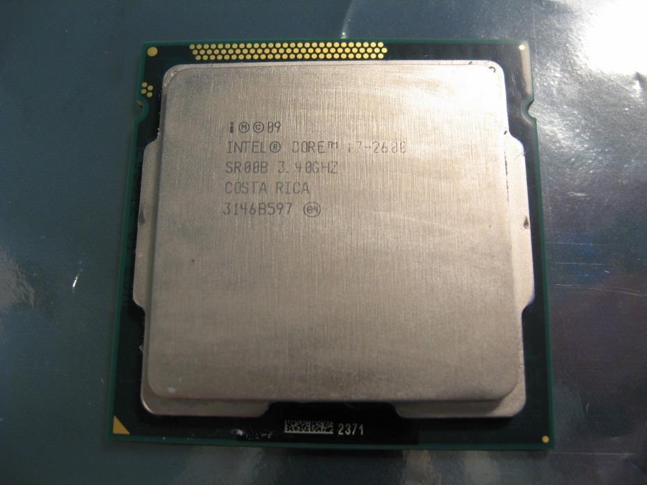 Intel Core i7-2600 3.4GHz Quad-Core SR00B Processor TESTED FREE SHIPPING