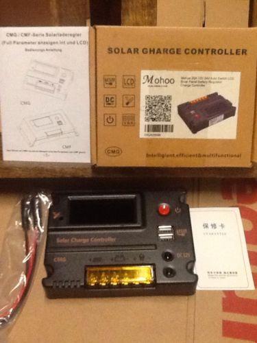 10A 12V /24V CMG Solar Panel Charge Battery Intelligent Controller Regulator
