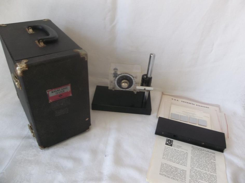 American Instruments-Aminco Brenner Magne Gage 5-660 With Case