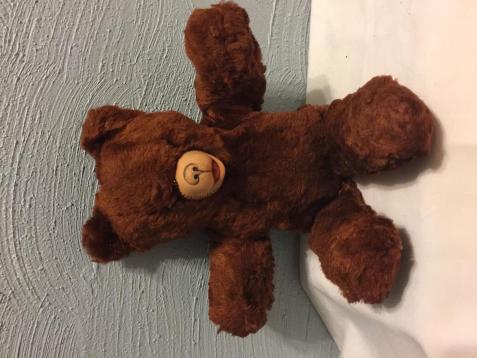 RARE Vintage 1940's  Rubber Nose TEDDY BEAR from ORIGINAL OWNER