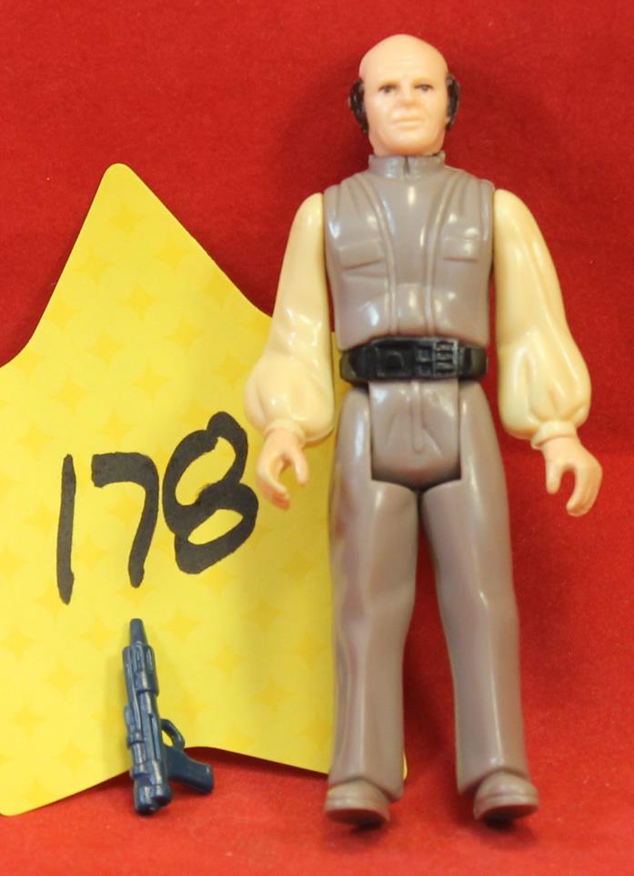 Star Wars Vintage Lobot with Weapon 1980 LFL Hong Kong #178 1980 Kenner
